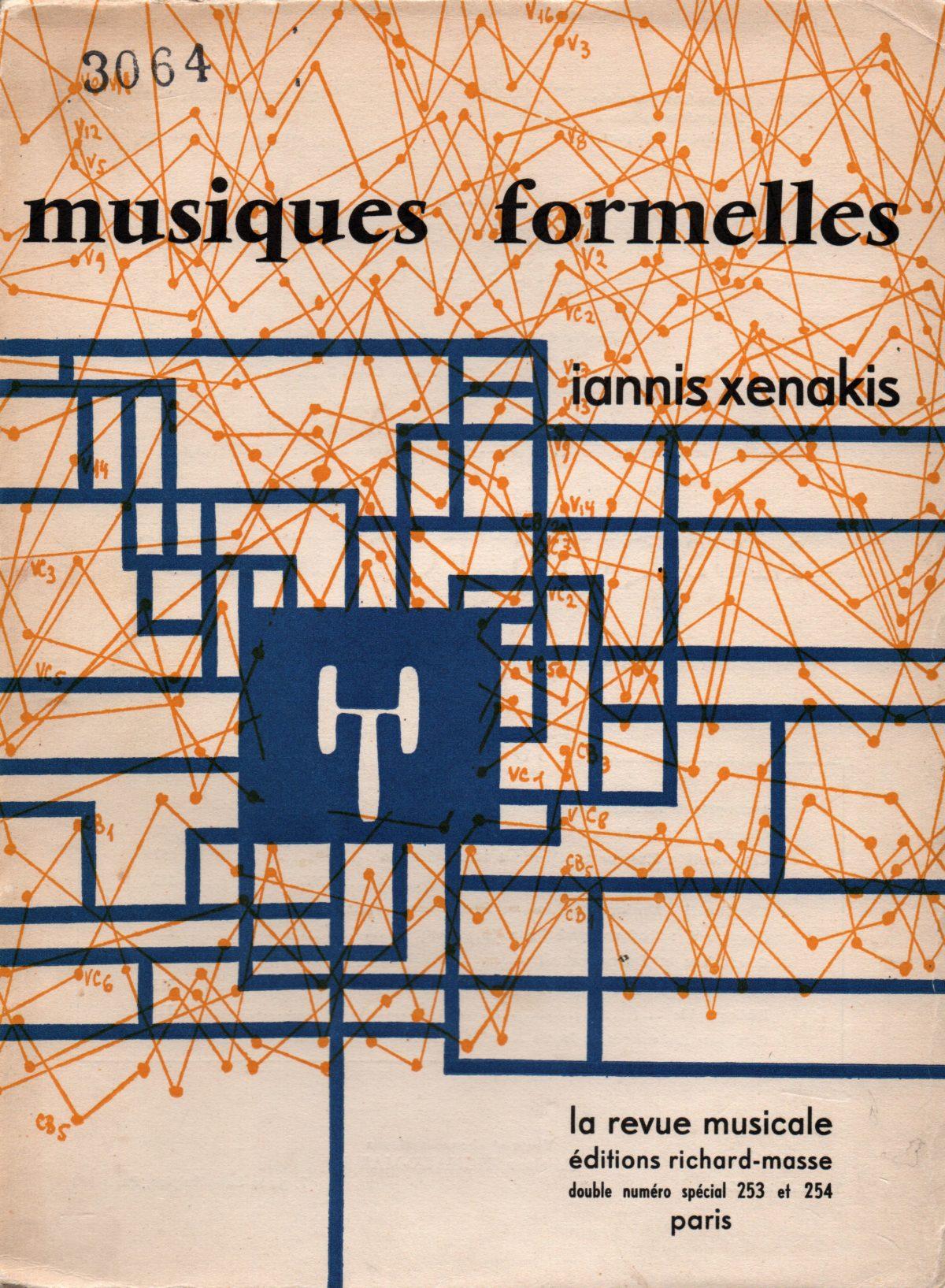 Musiques Formelles, couverture