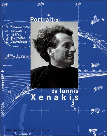 Portraits de Iannis Xenakis, couverture